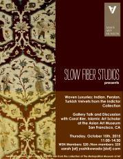 SFS Talk 15 Carol Bier AAM Poster-V2